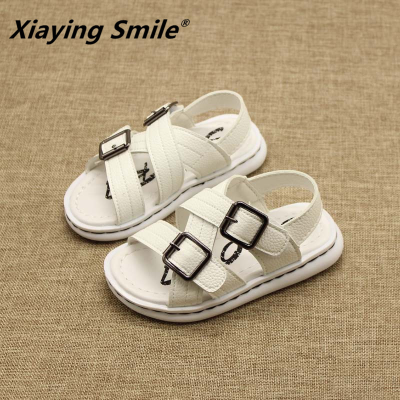 Belbello Boys Sandals Children Shoes Kid Flats Summer Fashion Casual Gladiator High Quality Buckle Strap Rubber Sole Boy Shoes