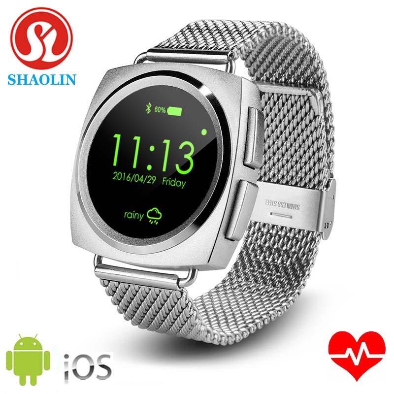 Prix pour SHAOLIN Smart Watch pleine ronde écran Smart Montres Coeur Taux Électronique Intelligente Smartwatch pour ios Android Apple Watch