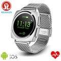 Shaolin smart watch ronda completa pantalla inteligente relojes de la frecuencia cardíaca electrónica inteligente smartwatch para android ios apple watch