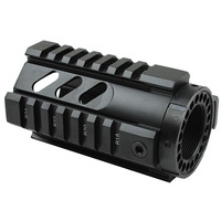 Funpowerland Tactical T Series 4 Inch Free Float Handguard Quad Rail Mount System Fit Real