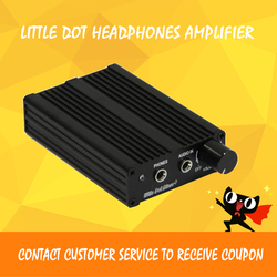 Little Dot M+ Portable Headphone Amplifier Head-AMP Pre-AMP Battery HEAD MAXIM MAX9724 Headphones Driver Chip With Power Supply
