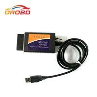 Teşhis Aracı V1.5 ELM327 USB Anahtarı ile FTDI FT232RL + 2480 çip modifiye FTDI çip OBD2 Forscan ELMconfig HS-CAN/MS-CAN OBD