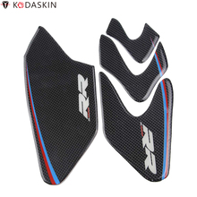 KODASKIN Side Gripper Tank Pad Protection Protectors Covers Stickers Real Carbon for BMW S1000RR HP4