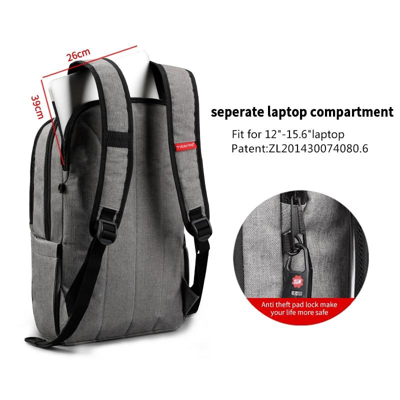 Backpack Waterproof Bag - Laptop Notebook for school, Men/Women 5