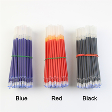 20Pcs/Lot Neutral Ink Gel Pen Refill Neutral Pen Good Quality Refill Black Blue Red 0.5mm 0.38mm Bullet Refill Office And School