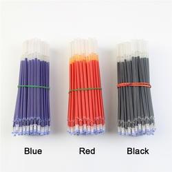 20 шт./лот нейтральные чернила Гелевая ручка повторная заливка нейтральной ручка Хорошее качество пополнения цвет: черный, Синий Красный 0,5