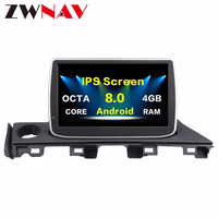 2 Din Android 8.0 4G Car multimedia Player Autoradio GPS Navigation head unit for Mazda 6 Atenza 2017 car dvd player wifi Radio