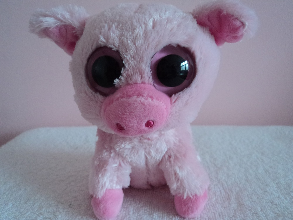 7cccae9d848 2011 RARE Retired TY BEANIE BOOS Corky the Pink Pig 6