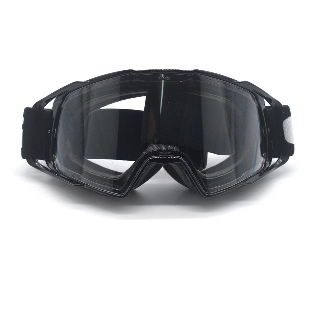 Evomosa Motorcycle Helmet Goggles Bike Off Road MX Tinted Eyewear Goggle Motorcycle Accessories Clear Ski Snowbard Sunglasses