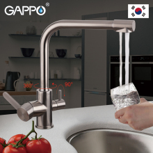 GAPPO Kitchen Faucet filtered water tap kitchen sink faucet tap kitchen mixer tap faucet brass mixer stainless steel faucet gappo kitchen faucet water mixer taps brass kitchen mixer antique faucet kitchen sink mixer cold hot water mixer 1set g4063 4