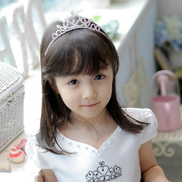HTB1qKTEPpXXXXXYXVXXq6xXFXXXw Cute Heart Princess Rhinestone Headband Crown Tiara For Girls
