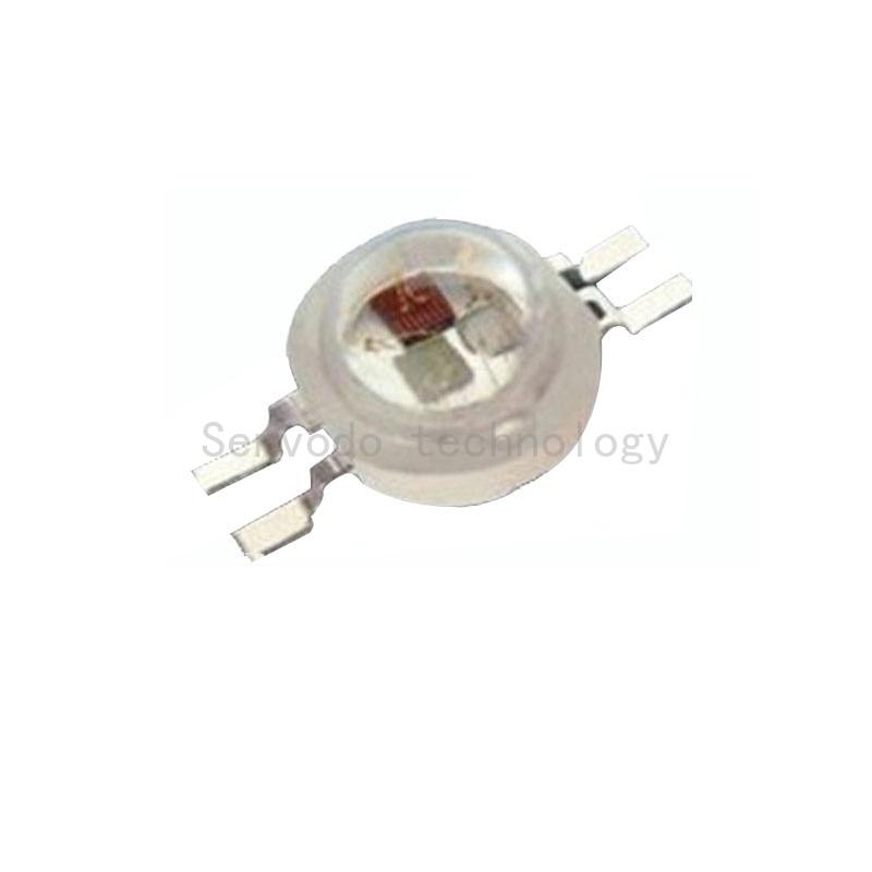 100X heiße Verkäufe 4pin 3W rgb hohe Leistung führten - Leuchten Zubehör