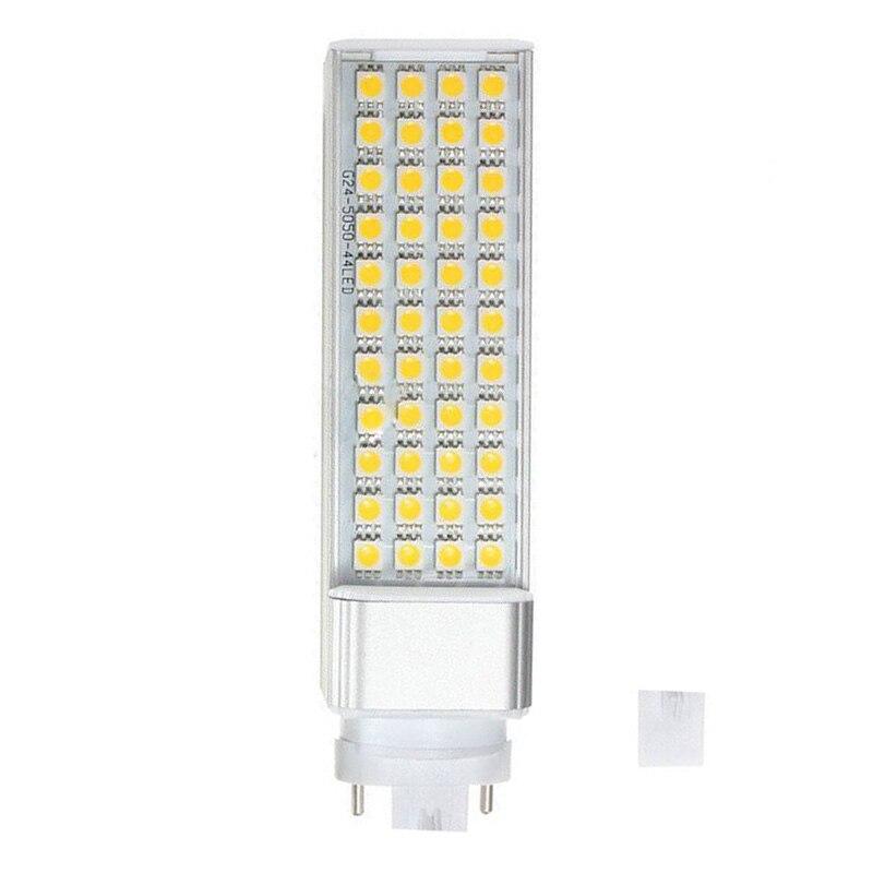 10 pièces G23 9 W 5050 SMD Led prise horizontale lampe maïs maison plafond lumière blanche chaude