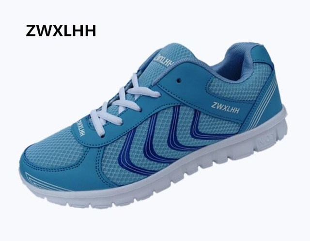 Free shipping 2017 new ZWXLHH lady brand walking shoes, mesh breathable comfortable woman vulcanized shoes size 36-41