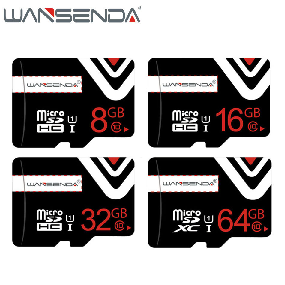Brand new memory card 64GB 32GB 16GB 8GB 4GB Real Capacity Micro sd card TF card for Android phone/Tablet with free adapter