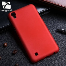 TAOYUNXI Matte Plastic Phone Case Cover For LG X Power K210 K450 K220 K220DS K220y K220 LS755 US610 F750K XPower 5.3inch Housing(China)