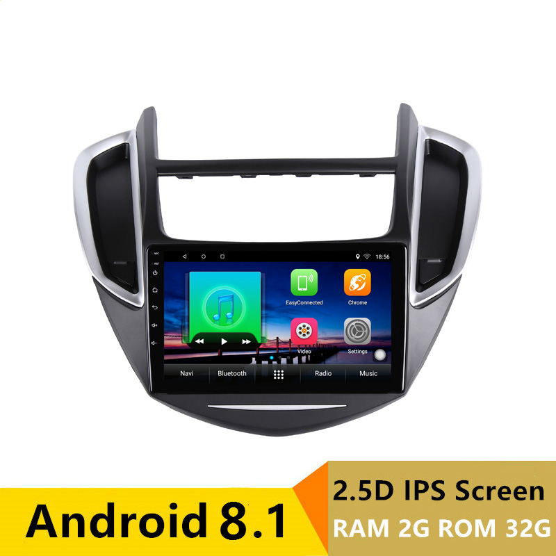 "9"" 2G RAM 32G ROM Android Car DVD Video Player GPS for Chevrolet TRAX 2013 2014 2015 audio car radio stereo navigation wifi BT"