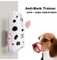 Praktische Haustier Hund Ultraschall Anti Bellen Gerät Hunde Rinde Stoping Trainer Antibell Ultraschall Trainingsgerät Für Hunde