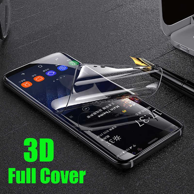 3D Full Mềm Hydrogel Cho Samsung Galaxy S10 Note 10 9 8 Plus 5G Màn Hình Bảo Vệ Cho samsung S10 S9 S8 A8 Plus S7Edge