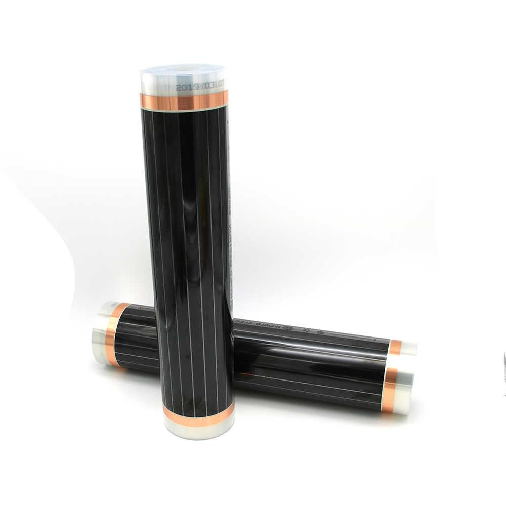 220V 50cm szerokość zdrowe ogrzewanie podłogowe ogrzewanie podłogowe na podczerwień ogrzewanie węglowe