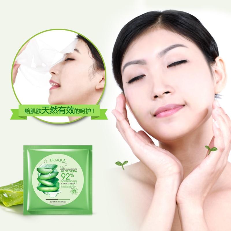 New Aloe and Alga Plant Collagen Crystal Mask,Anti-aging,Moisturizing, Whitening Facial Ma