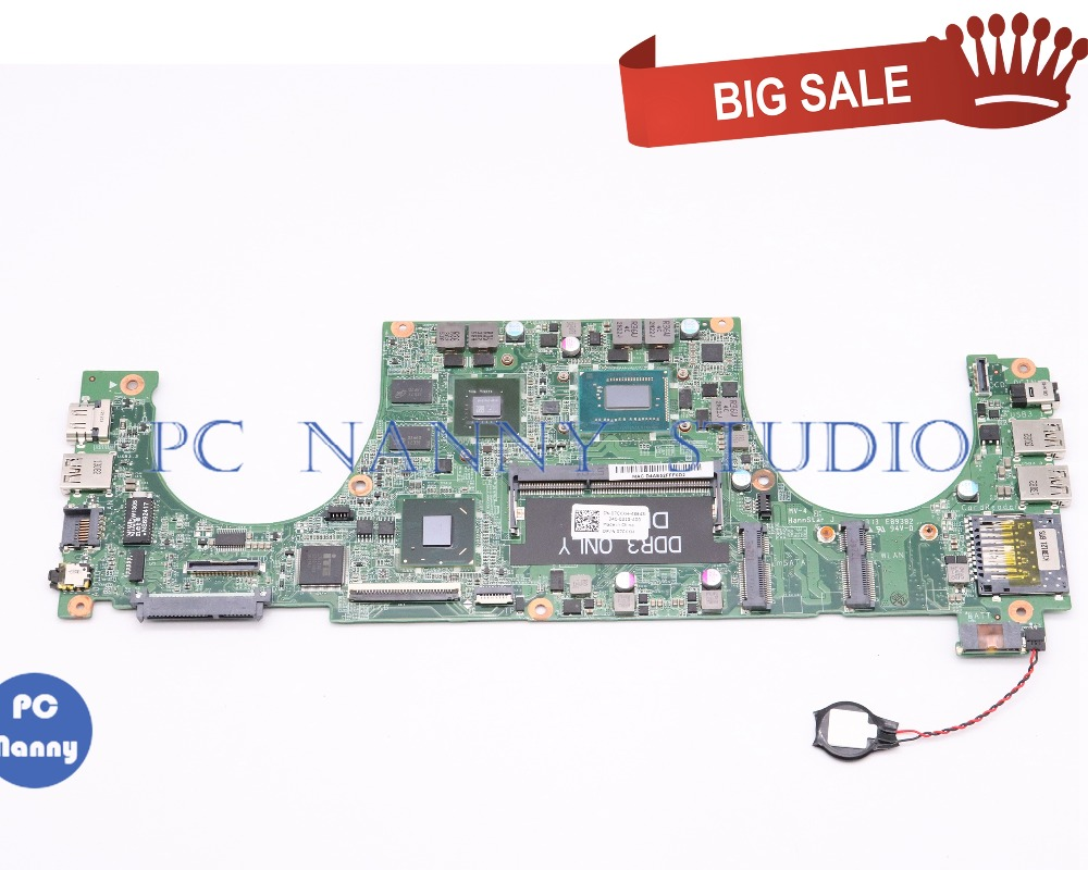 PCNANNY 0XX7YR 0XX7YR XX7YR DA0JW8MB6F0 FOR Dell Vostro 5460 14 inch Laptop Motherboard <font><b>i5</b></font>-<font><b>3230M</b></font> GeForce GT630M tested image