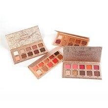 10 Colors Eye Shadow Palette Glitter Makeup Shimmer Eyeshadow Cosmetic Kit Shimmer Matte Eyeshadow Pallete цена и фото