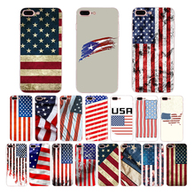 American flag Pattern soft TPU phone fitted case For iPhone cover 6s 6 plus 7 8 coque 5 5S SE XR XS max X silicone mobile shell цена и фото