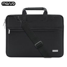 MOSISO Laptop Bag Sleeve 13.3 15.4 15.6 Inch Messenger Notebook For Macbook Air 13 New Pro 15 Touch Bar Case