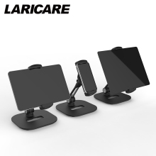 LARICARE aluminum tablet/phone stand holder champ for ipad/phone, rotatable adjustable tablet support car stand holder LD-204D