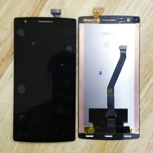 100% New oneplus one LCD screen Display and Touch Screen Digitizer Assembly 1+ one plus one lcd screen black colour