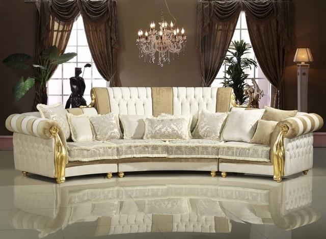High Quality Luxury Classic Furniture Barcelona Corner Sofa