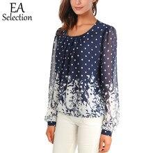 21e2701a6704 Promoción de Women Casual Long Sleeve Dotted Tops - Compra Women ...