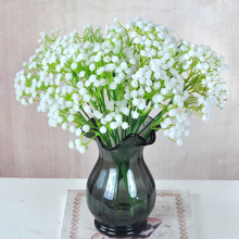 1pc Multiple Colour Gypsophila Artificial Flower Branch Decor for Home Table Wedding Flower Plastic Gypsophila Babysbreath