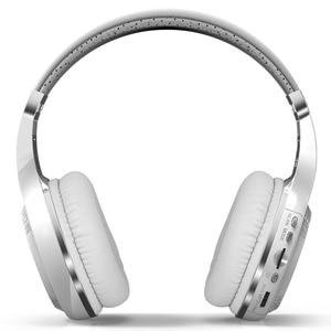 Image 2 - Bluedio H+ Wireless Headset Bluetooth Headphone Super Bass Stereo Support FM Radio TF Card Play Handsfree Microphone