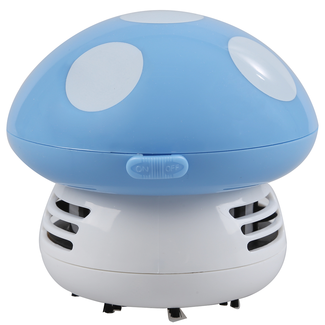 New Home Handheld Mushroom Shaped Mini Vacuum Cleaner Car Laptop keyboard Desktop Dust cleaner-blue