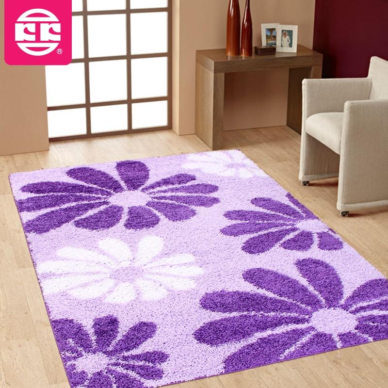 rustic empty living room carpet | Koko elbow yarn living room carpet coffee table flower ...