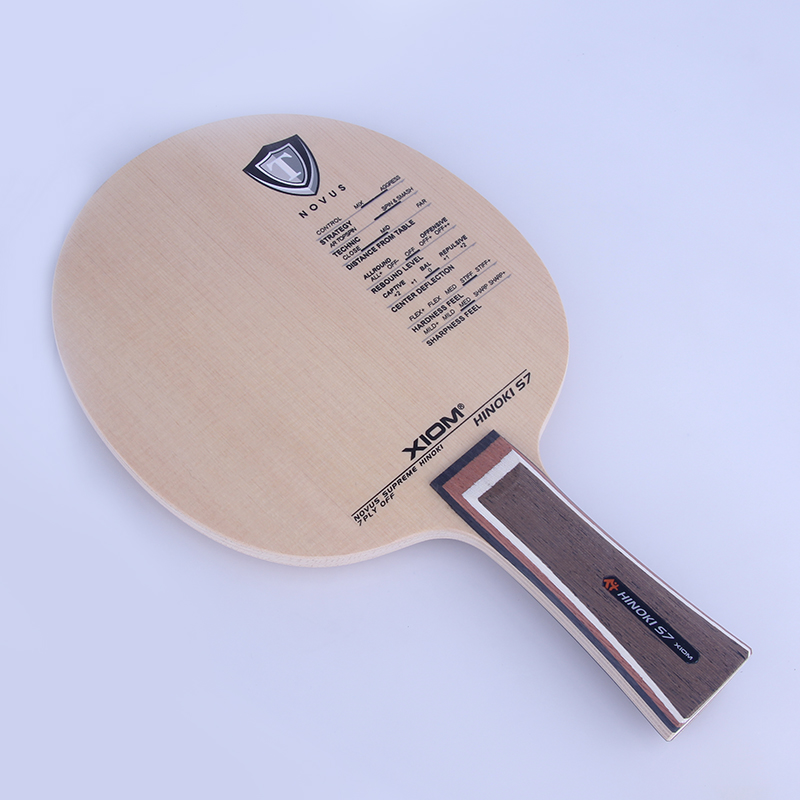 Original Xiom Hinoki S7 Table Tennis Blade professional Racquet Sports Table Tennis Racket Cypress Pure Wood