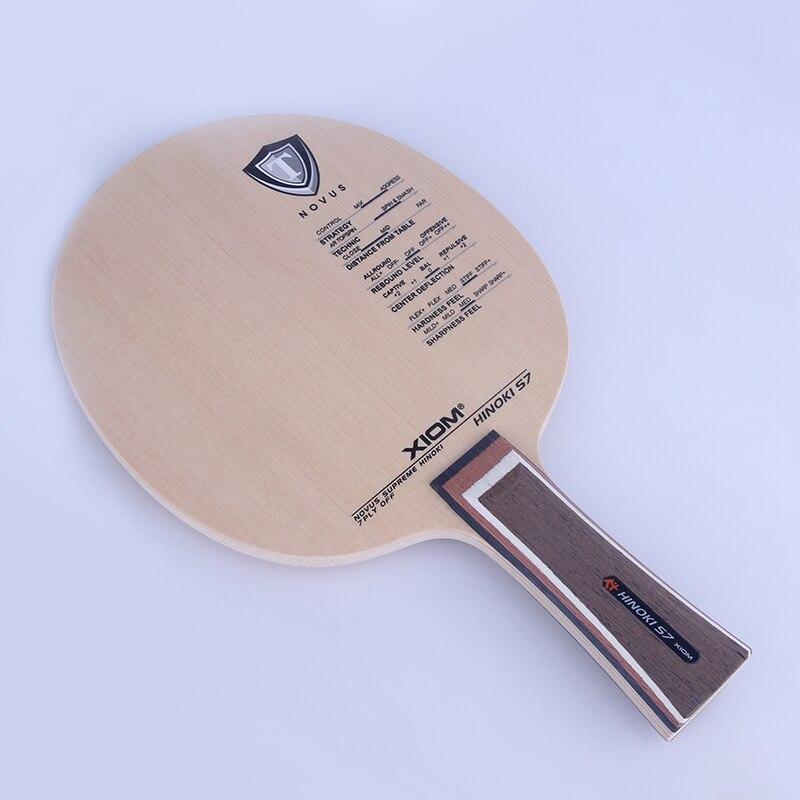 Original Xiom Hinoki S7 Tischtennis Klinge professionelle Schläger Sport Tischtennis Schläger Zypressen Reines Holz-in Tischtennisschläger aus Sport und Unterhaltung bei AliExpress - 11.11_Doppel-11Tag der Singles 1