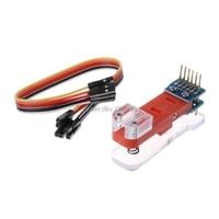 Программный модуль тестовый инструмент PCB тестовое приспособление 1*6 P позолоченный зонд использование для тестового модуля, плата загружа...
