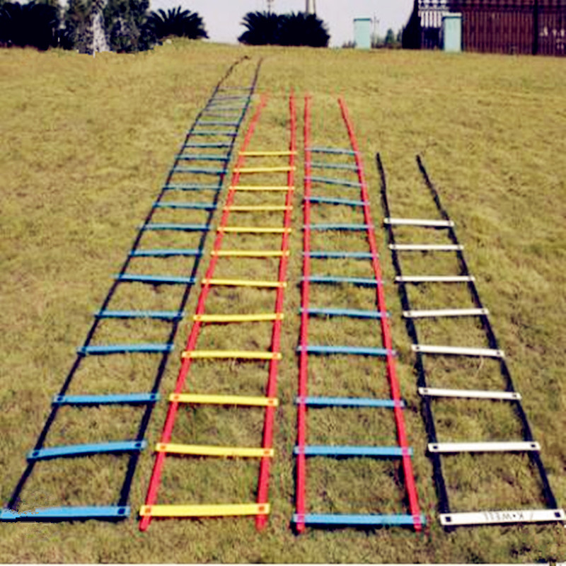 2018 New Thick And Wearable Step Agility Ladder High Density Braid High Flexibility Speed  Football Training Equipment