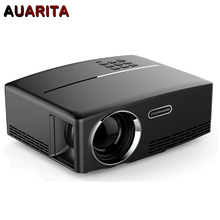 G88 1800 lumens Portable HD home cinema LED Projector HDMI LCD Game PC GP80 Digital Mini Projectors 1080P Proyector 3D Beamer