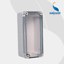 Free Shipping ABS IP65 indoor/out door Light Insulation Corrosion Waterproof Clear Cover Waterproof Electrical  Junction Box