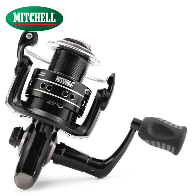 100% Original Mitchell AVOCET SILVER IV 1000 / 2000 / 4000 FD Spinning Fishing Reel 5+1BB Carp fishing Gear  Fishing reel