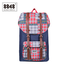 حقيبة ظهر للسفر من علامة تجارية 8848 حقيبة ظهر مقاومة للماء مقاس 15.6 بوصة حقيبة ظهر من مادة البوليستر بتصميم هندسي S15005 6