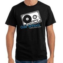 """Old School – Analog Audio Power"" men's t-shirt"