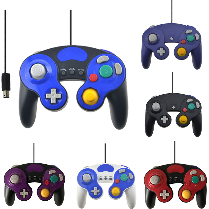 Wired USB / GC Controller עבור NGC Gamecube מסוף מחשב נישא עבור Nintend NGC Gamepad Controle PC GC כף יד ג 'ויסטיק