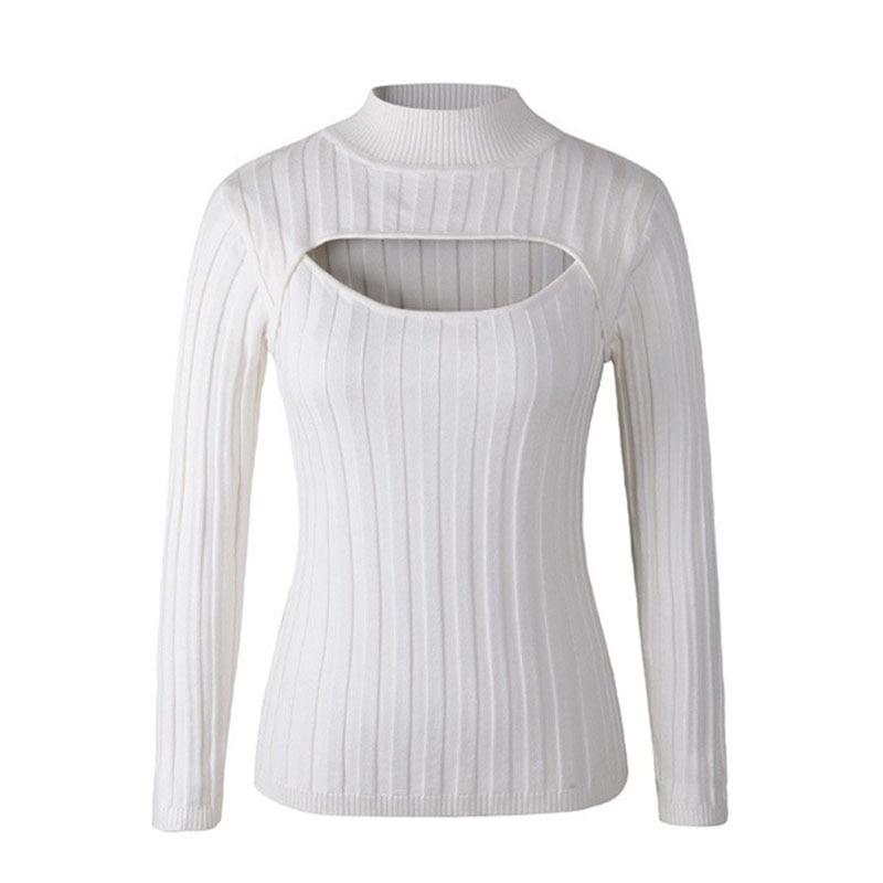ღ Ƹ̵̡Ӝ̵̨̄Ʒ ღNavidad suéter mujeres pull Femme 2016 del cuello alto ...