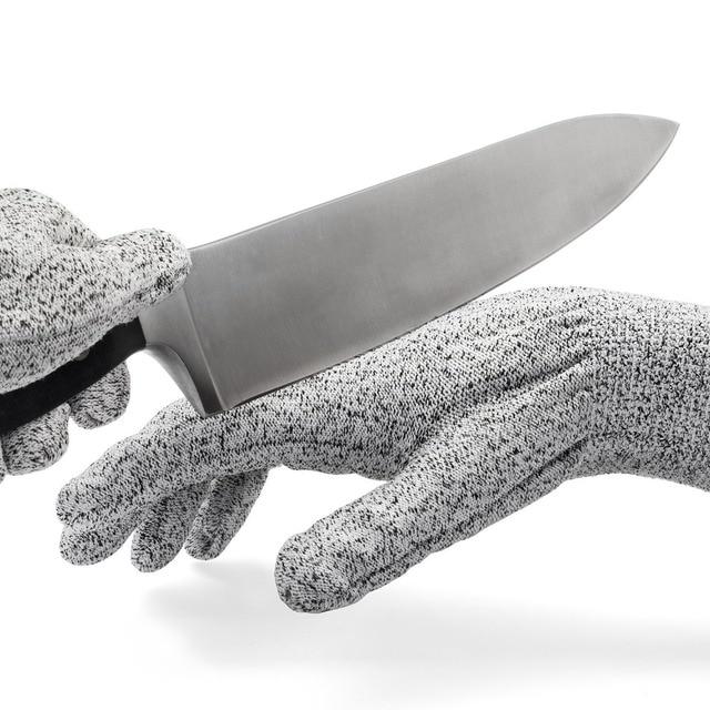 Useful Working Safe Cut Resistant Gloves Kitchen 3