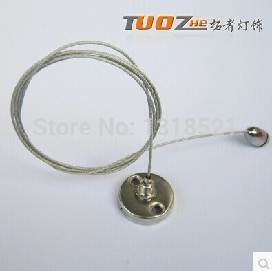 Free Shipping Steel Cable Hanging Wire Panel Light/pendant Light Steel Wire T5 Lamp Hanging Wire Steel Wire Rope 1.5meter